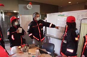 救護班(東日本大震災救護所)